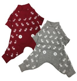 Fou Fou Dog Fou Fou Dog Thermal PJ's Moose