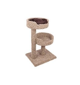 Ware Manufacturing Cat Ware Two Story Perch w/Donut Bed