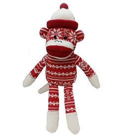 Huxley & Kent Huxley & Kent Holiday Sock Monkey Snowflake