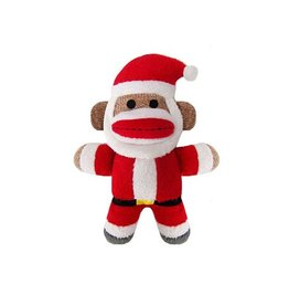 Huxley & Kent Huxley & Kent Holiday Sock Monkey Jolly Santa