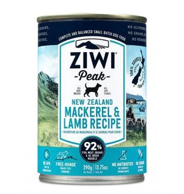 ZiwiPeak ZiwiPeak Daily Cusine Dog Can Mackerel & Lamb 390g