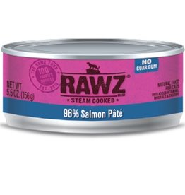 Rawz Cat Can 96% Salmon 5.5oz