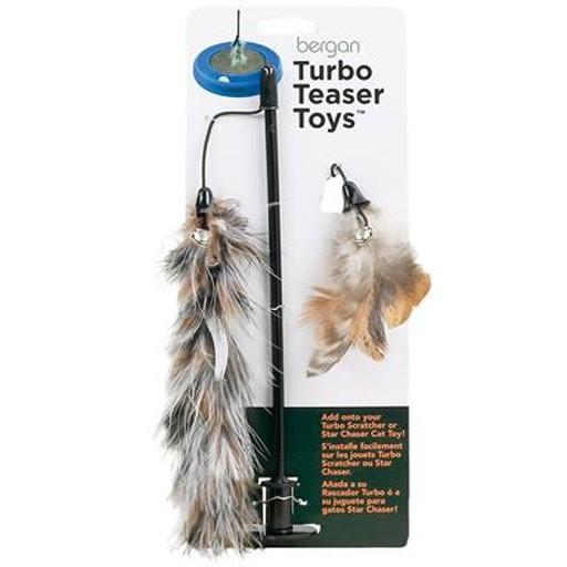 Bergan Pet Bergan Pet Feather Teaser For Turbo Scratcher & Star Chaser