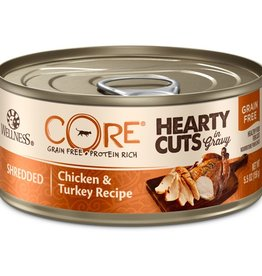 Wellness Wellness Cat CORE Hearty Cuts Shredded Chicken & Turkey 5.5oz
