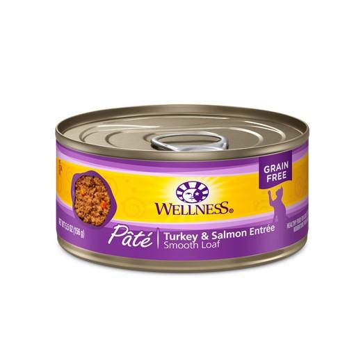 Wellness Wellness Cat Can Turkey & Salmon 5.5oz