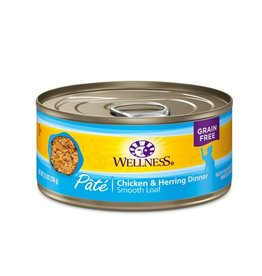 Wellness Wellness Cat Can Chicken & Herring 5.5oz