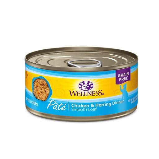 Wellness Wellness Cat Can Chicken & Herring 5.5oz