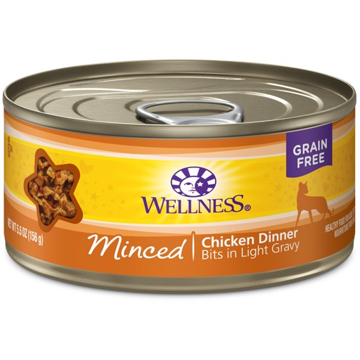 Wellness Wellness Cat Can Chicken Dinner Minced 5.5oz