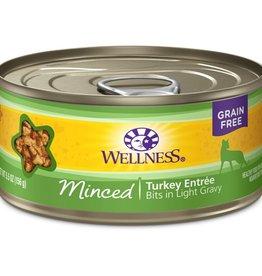 Wellness Wellness Cat Can Turkey Entree Minced 5.5oz