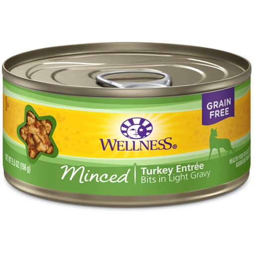 Wellness Wellness Cat Can Turkey Entree Minced 5.5oz