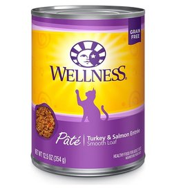 Wellness Wellness Cat Can Turkey & Salmon 12.5oz