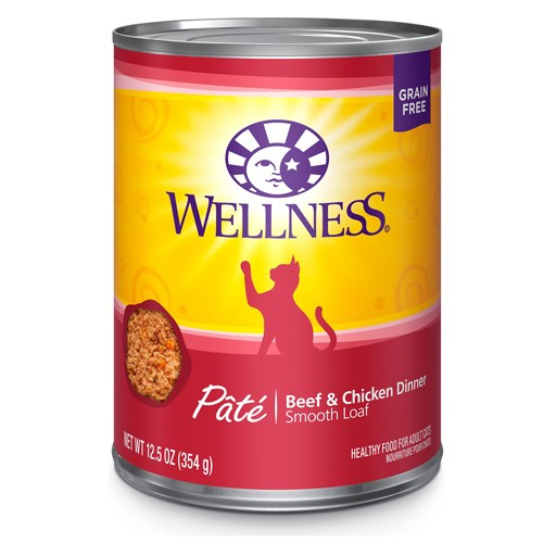 Wellness Wellness Cat Can Beef & Chicken 12.5oz