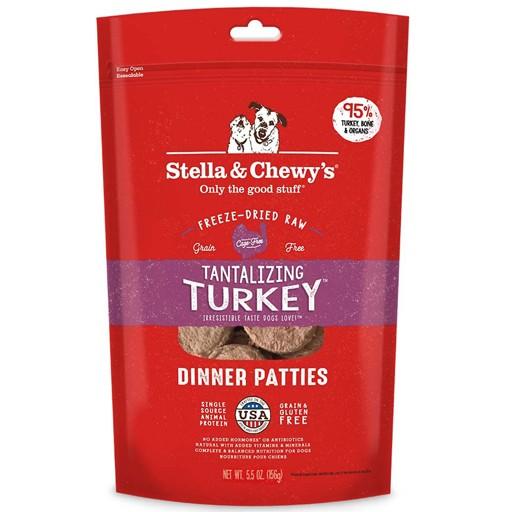 Stella & Chewy's Stella & Chewy's Freeze Dried Tantalizing Turkey Dinner 5.5oz