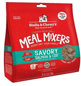 Stella & Chewy's Stella & Chewy's Freeze Dried Meal Mixers Salmon & Cod 18oz