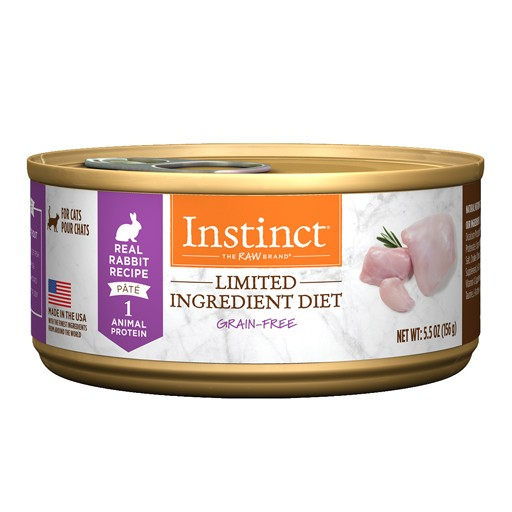 Nature's Variety Instinct Feline LID Rabbit 5.5oz