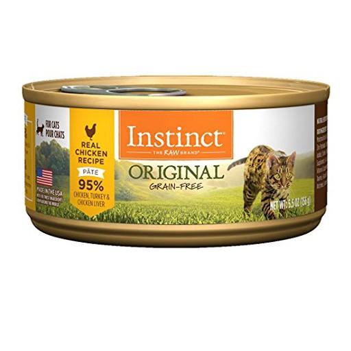 Nature's Variety Instinct Feline Can Chicken 5.5oz
