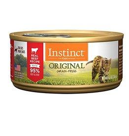 Nature's Variety Instinct Feline Can Beef 5.5oz