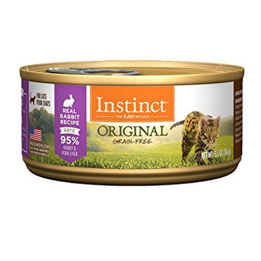 Nature's Variety Instinct Feline Can Rabbit 5.5oz