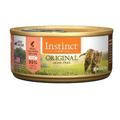 Nature's Variety Instinct Feline Can Salmon 5.5oz