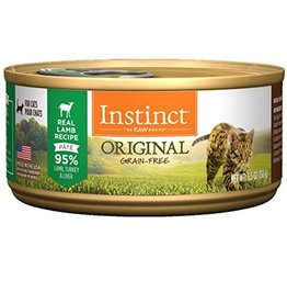 Nature's Variety Instinct Feline Can Lamb 5.5oz