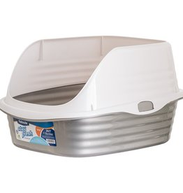 Petmate Petmate Stay Fresh Large Rimmed Litter Pan 18x15x10
