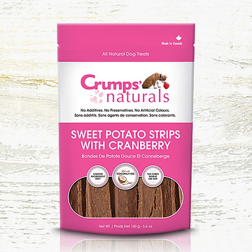 Crumps' Naturals Crumps Naturals Sweet Potato Strips with Cranberry 160g
