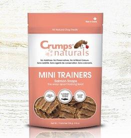 Crumps' Naturals Crumps Naturals Mini Trainers Salmon Snaps 120g