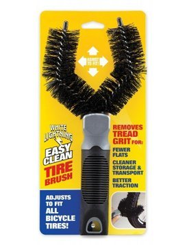 White Lightning Tire Brush (Single Unit)