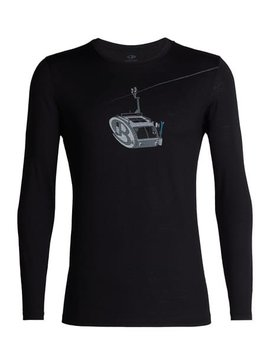 Icebreaker Tech Lite Men's  L/S Crew Camper Lift