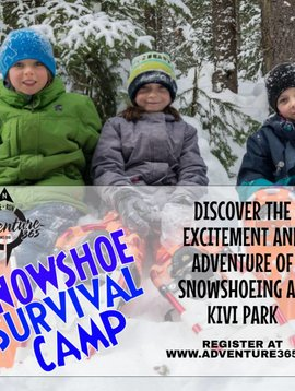 SNOWSHOE SURVIVAL CAMP