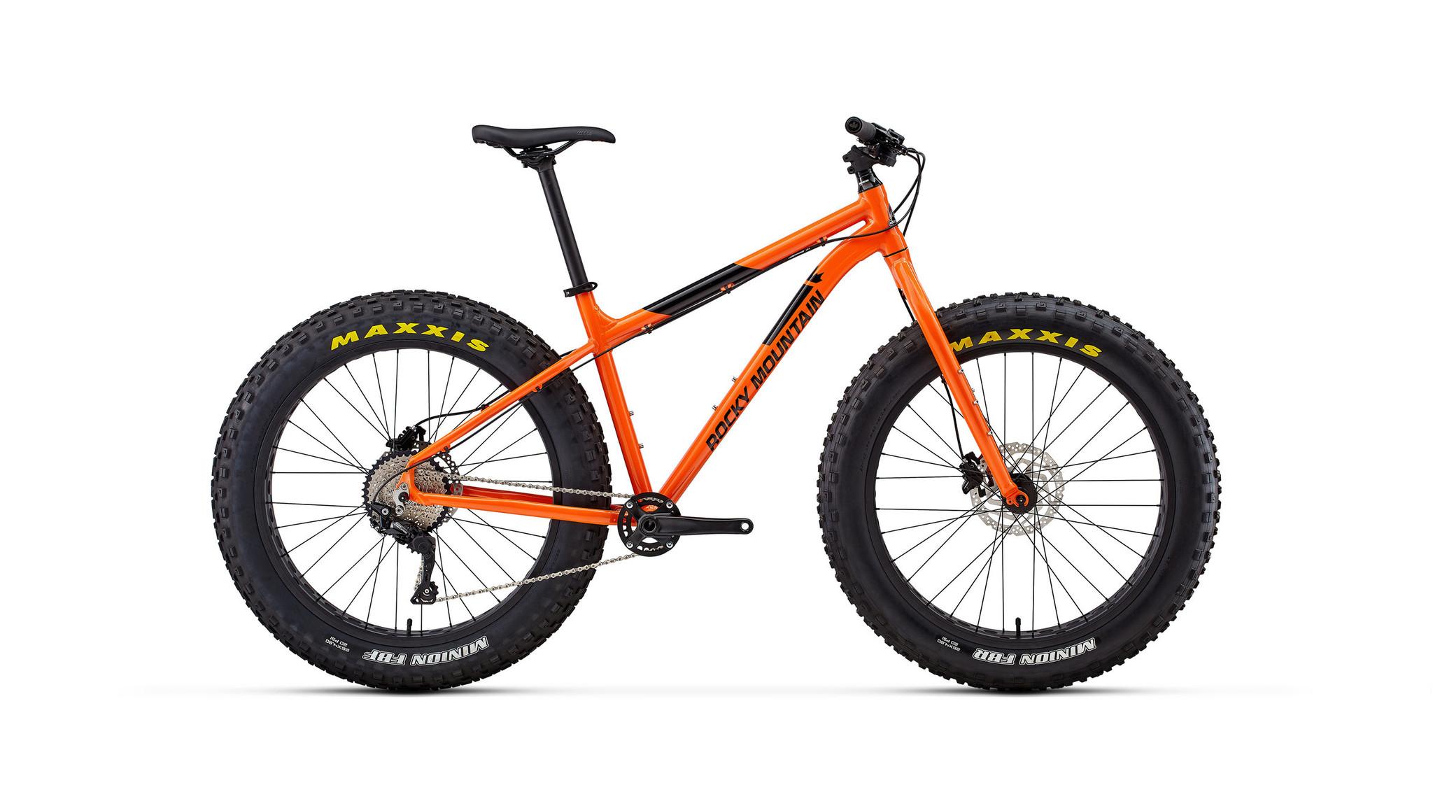 Rocky Mountain Bikes Blizzard 10 Fat Bike