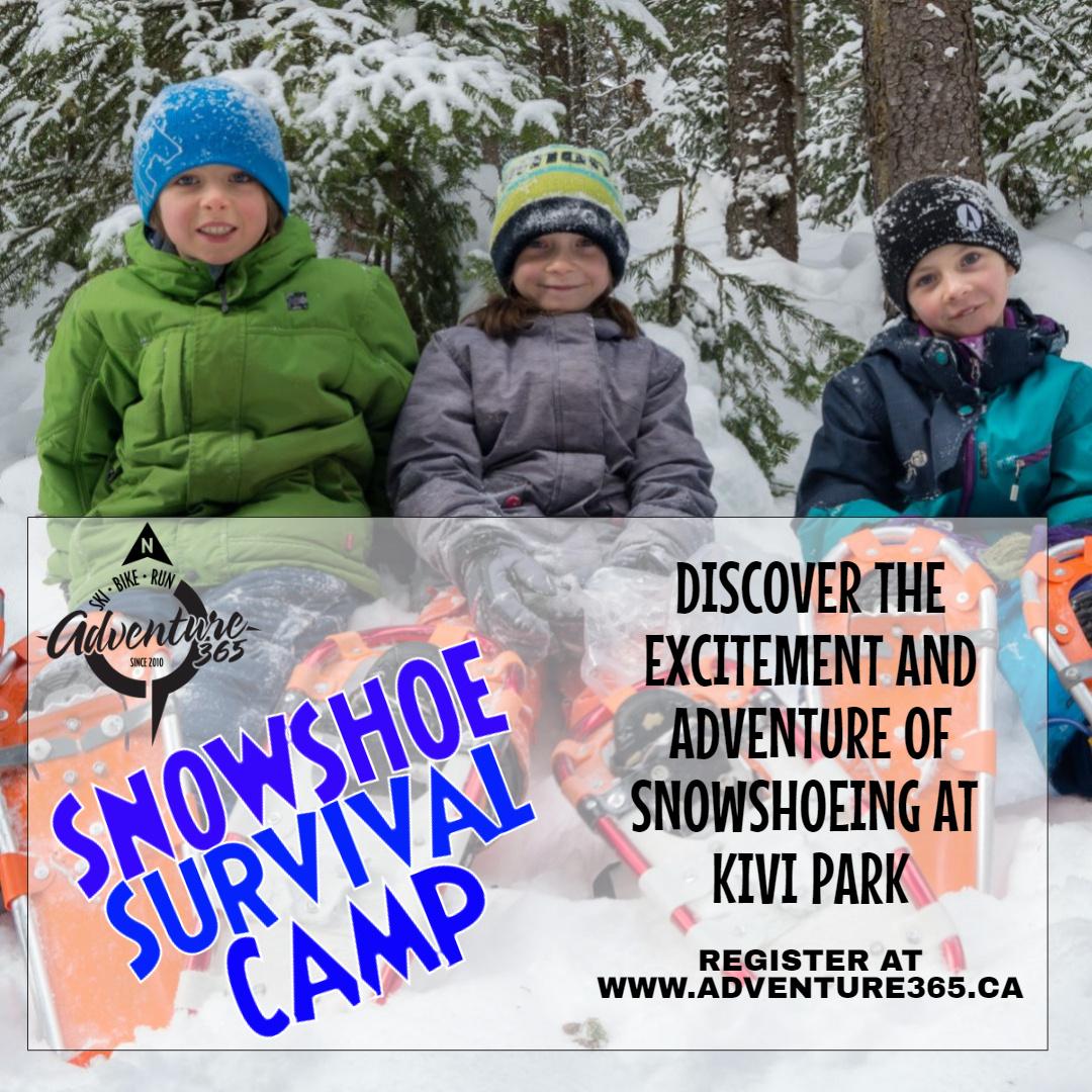 SNOWSHOE SURVIVAL CAMP 2020