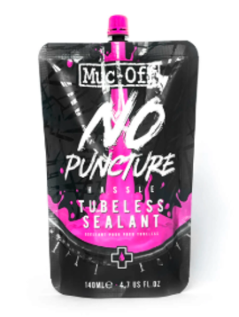 Muc-Off No Puncture Hassle Tubeless Sealant Pouch 140ml