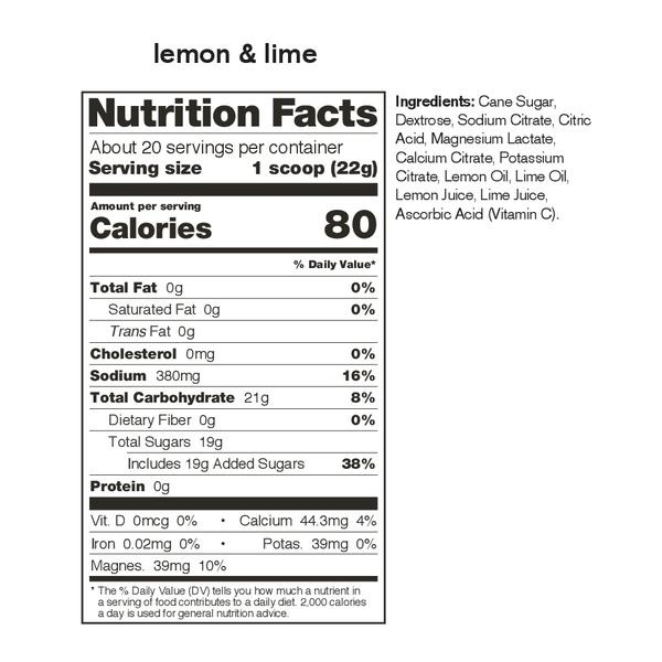 Skratch Labs Sport Hydration Mix Lemon Lime 440G