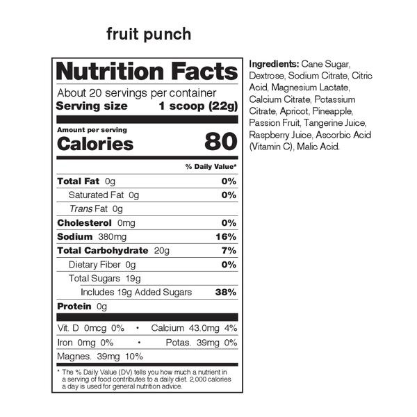Skratch Labs Sport Hydration Mix Fruit Punch 440G