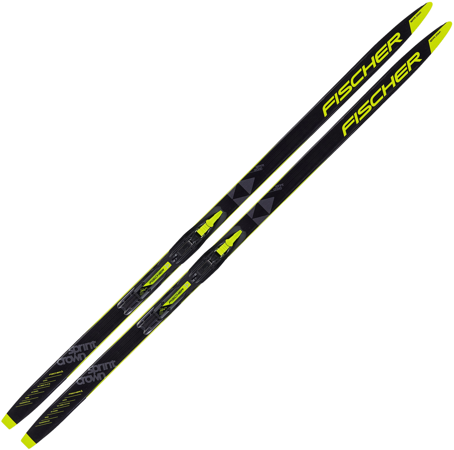 Fisher Sprint Crown Junior IFP Skis + Bindings