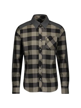 Scott Trail Flow Check Men's Long Sleeve Shirt