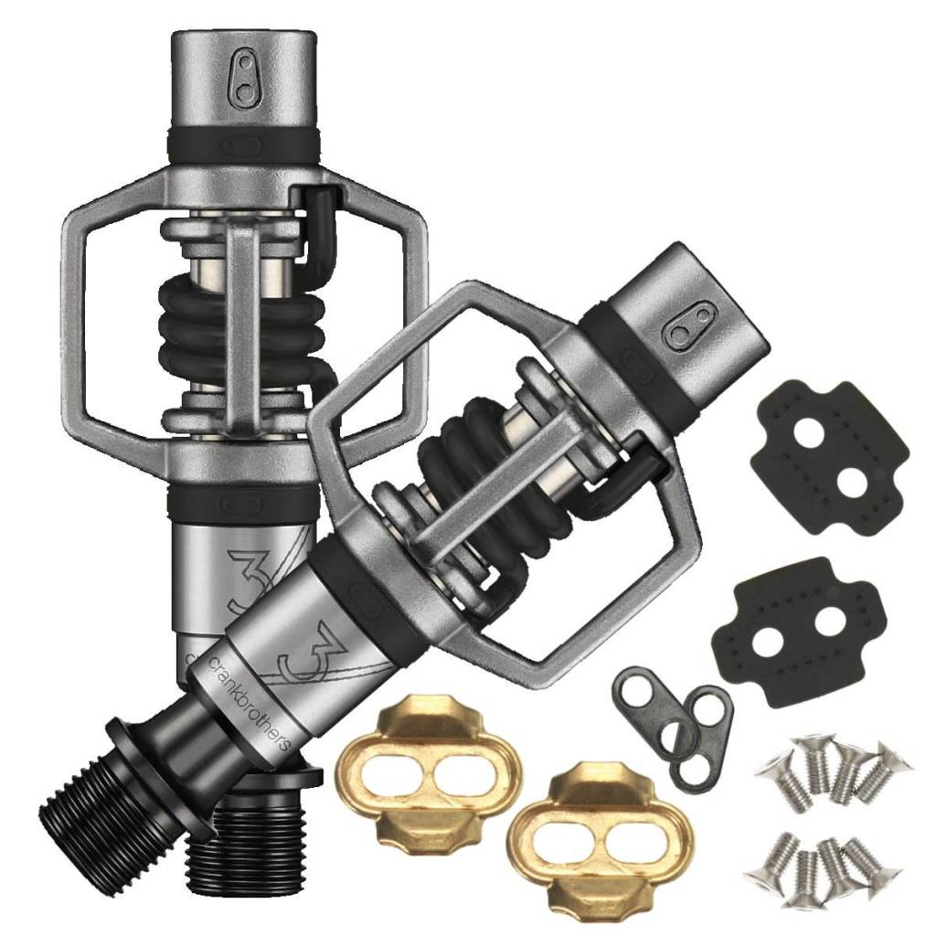 Crankbrtohers Eggbeater 3 Pedals - Black