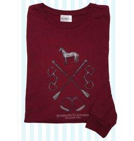 Stirrups Clothing Company Bits & Stirrup Long Sleeve Tee