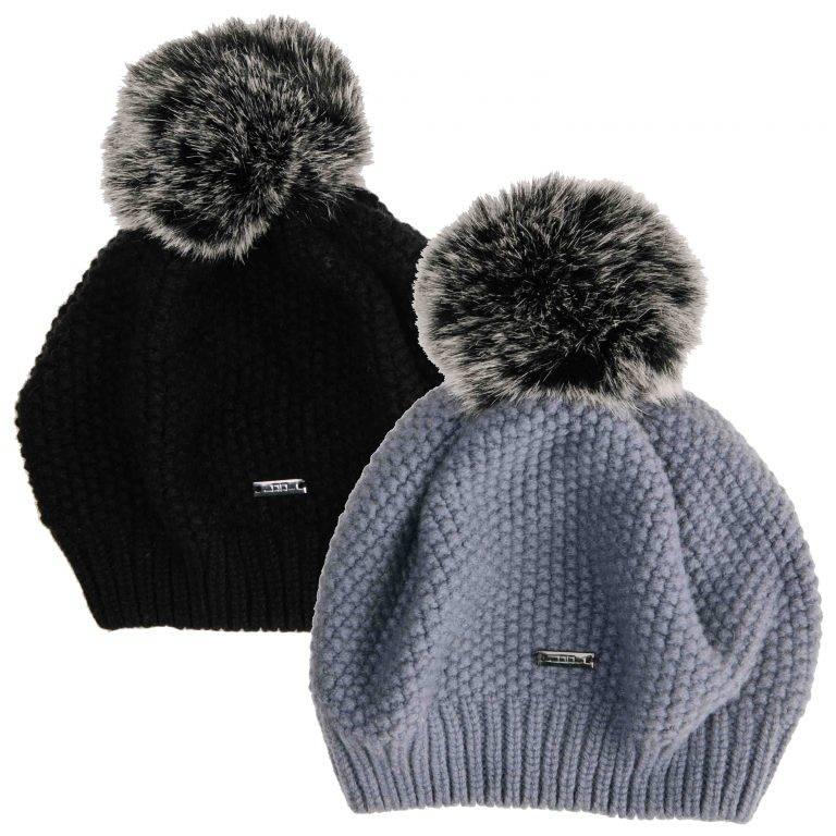 Alessandro Albanese Wool Pom-Pom Hat