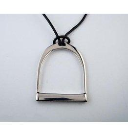 Michel McNabb Large Stirrup Necklace