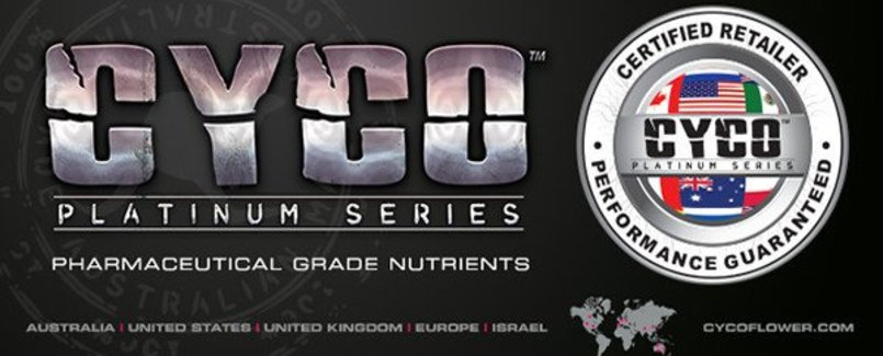 We Carry The Full Line Of CYCO Nutrients!