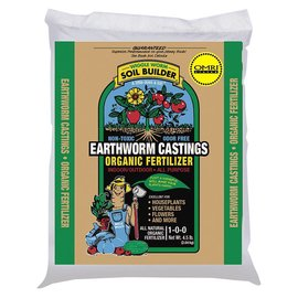 Wiggle Worm Wiggle Worm Soil Builder Always PURE Earthworm Castings, 4.5 lb