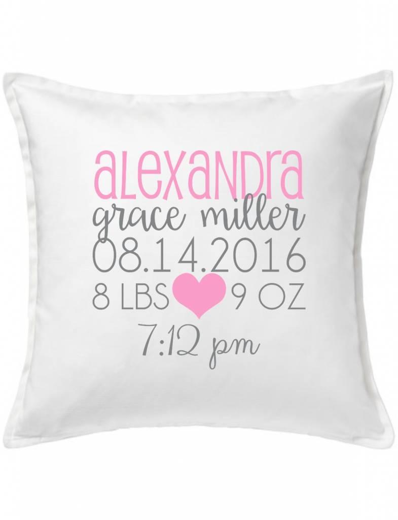 White Custom Pillow-68-Daydreamer Announcement