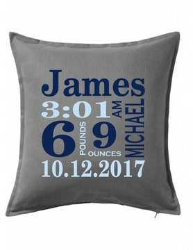 Gray Custom Pillow-70B-Traditional Announcement