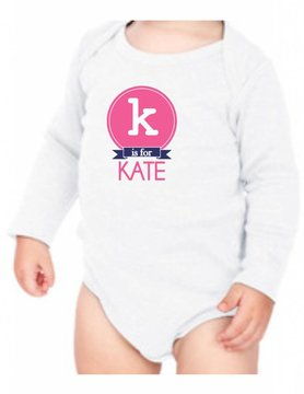 #634 Infant Long Sleeve Onesie-KID41-K is for...