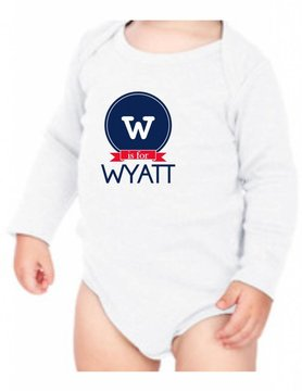 #634 Infant Long Sleeve Onesie-KID66-W is for...