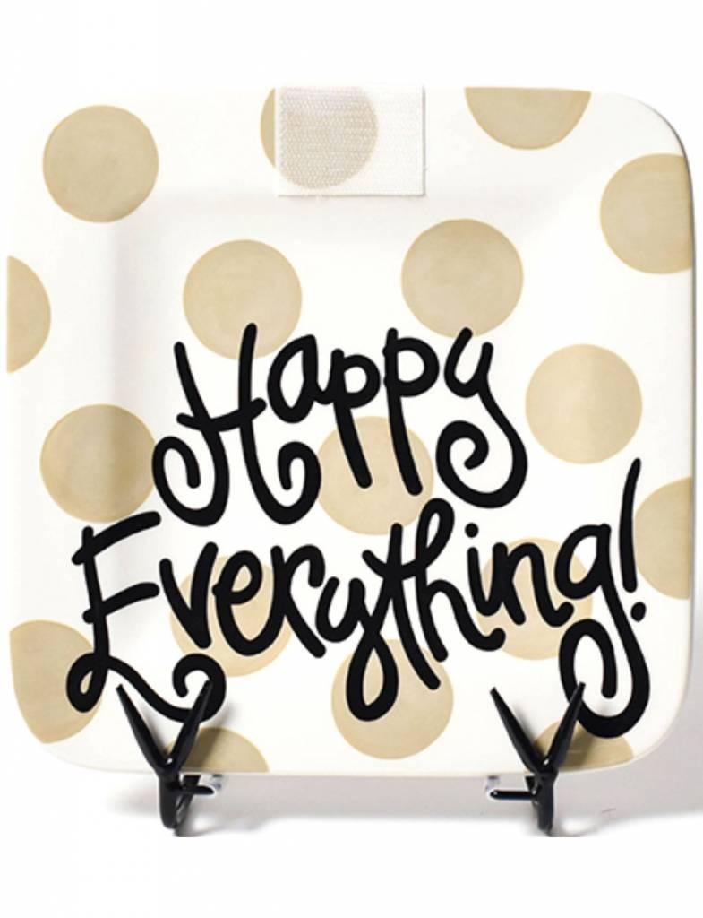 Neutral Dot Happy Everything Mini Platter