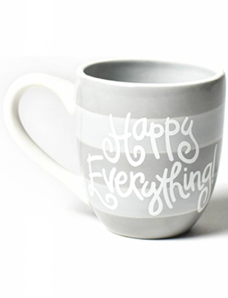 Stone Stripe Happy Everything Mug