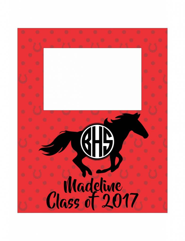 Custom Frame-FRM32-BHS Horseshoe Pattern